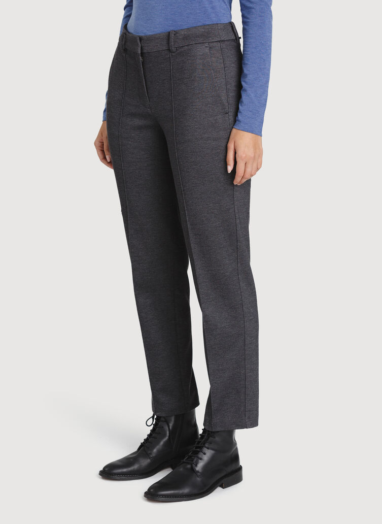 Coastline Trouser, Charcoal Melange | Kit and Ace