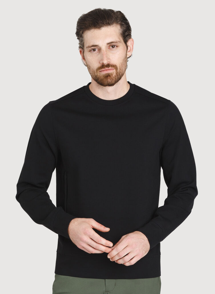 Comfort Pullover, Deep Black | Kit and Ace
