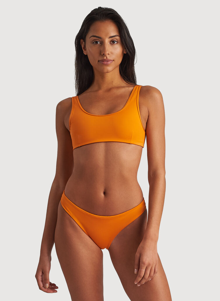 Cheeky Swim Bottoms, Fanta Orange | Kit and Ace