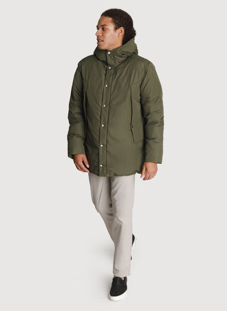 Ace Vented Puffy Jacket *Heavyweight, Field | Kit and Ace
