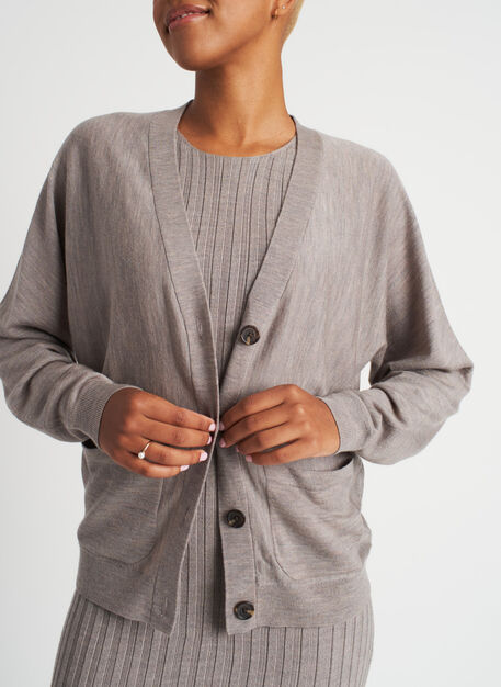 Carry On Cardigan, Sandstone | Kit and Ace