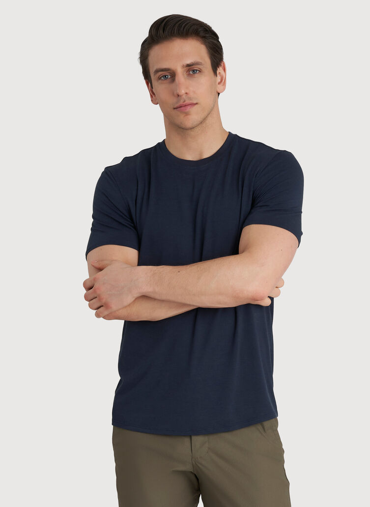Ace Crew Tee, DK Navy   Kit and Ace