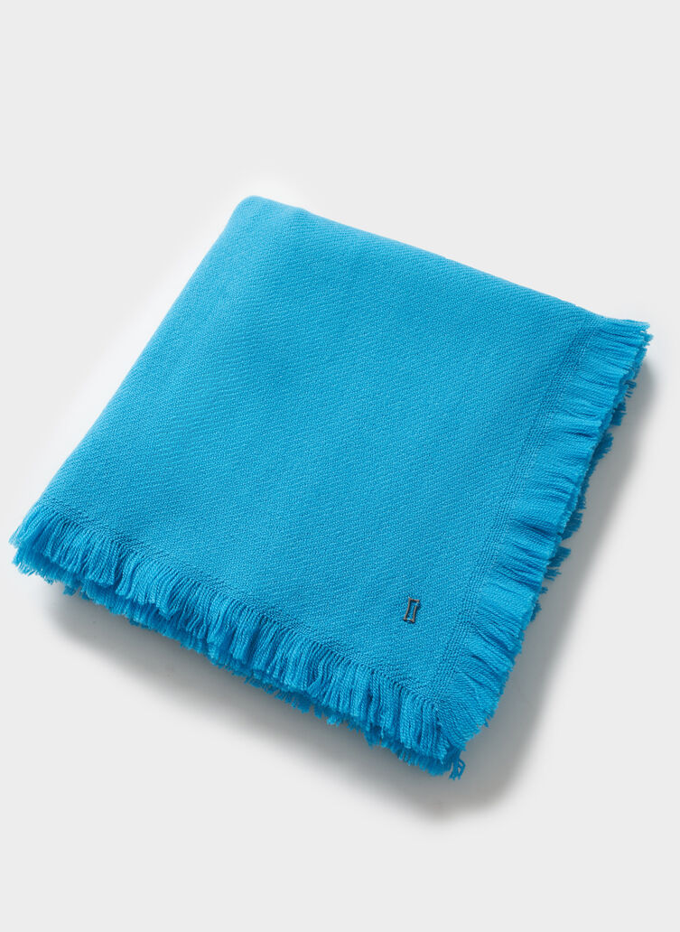 Blanket Scarf, Bright Blue | Kit and Ace