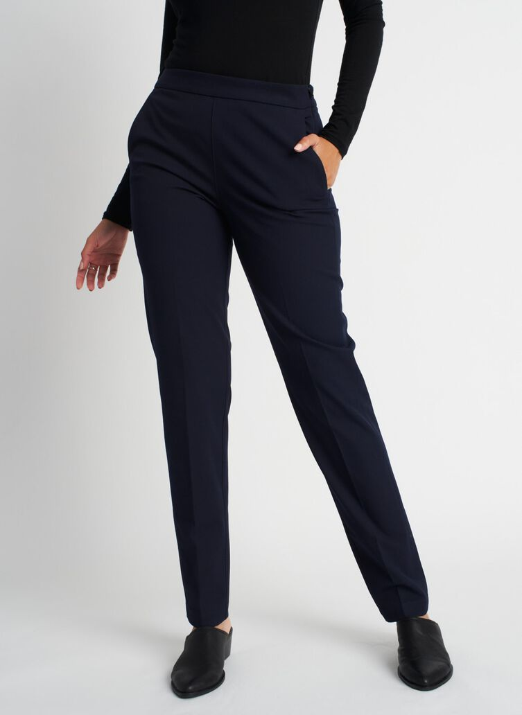 Go To Trouser, Dark Navy | Kit and Ace