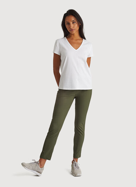 Navigator Classic Ankle Pant, Field | Kit and Ace