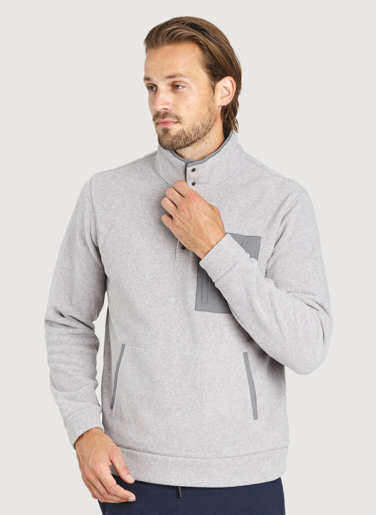 Snug Pullover, Ash | Kit and Ace