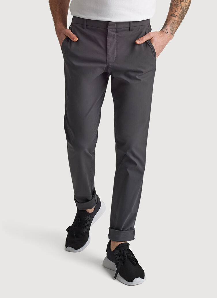 Navigator Commute Pant Slim Fit, Charcoal | Kit and Ace