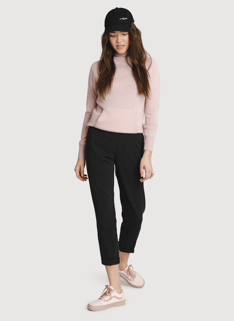 Mulberry Pant, HTHR Charcoal | Kit and Ace