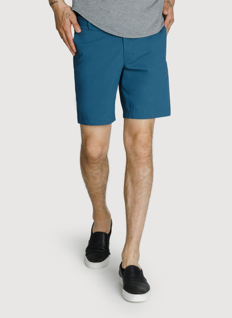 Navigator Stretch Short 2.0, Dark Denim | Kit and Ace