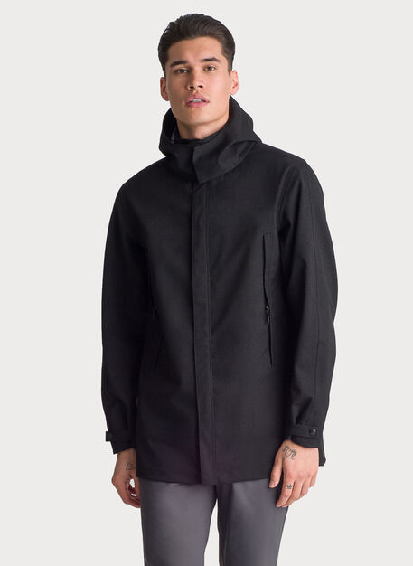 Ace Vented Waterproof Jacket, KNA Black | Kit and Ace