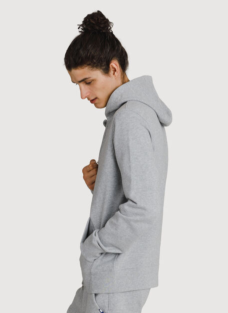 Coasting Full Zip Hoodie, HTHR Metal | Kit and Ace