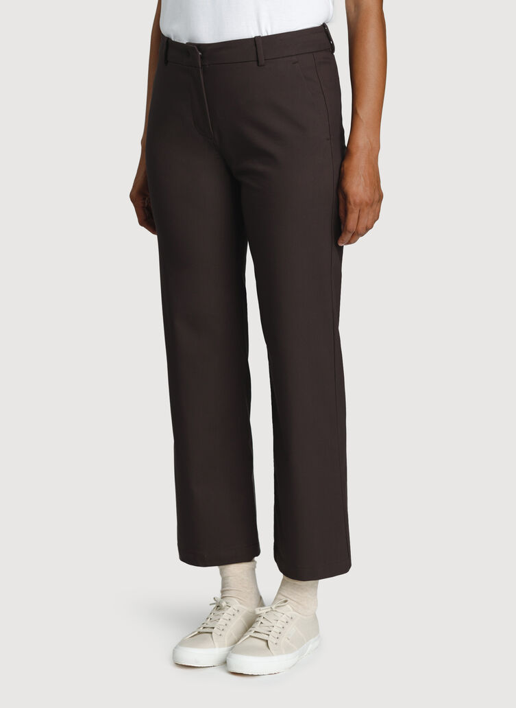 Wide Leg Ankle Pants, After Dark | Kit and Ace