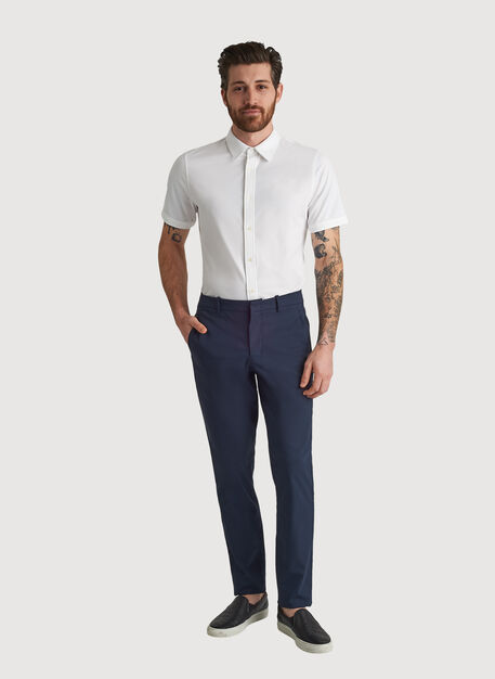 Navigator Commute Pant Slim Fit, DK Navy | Kit and Ace