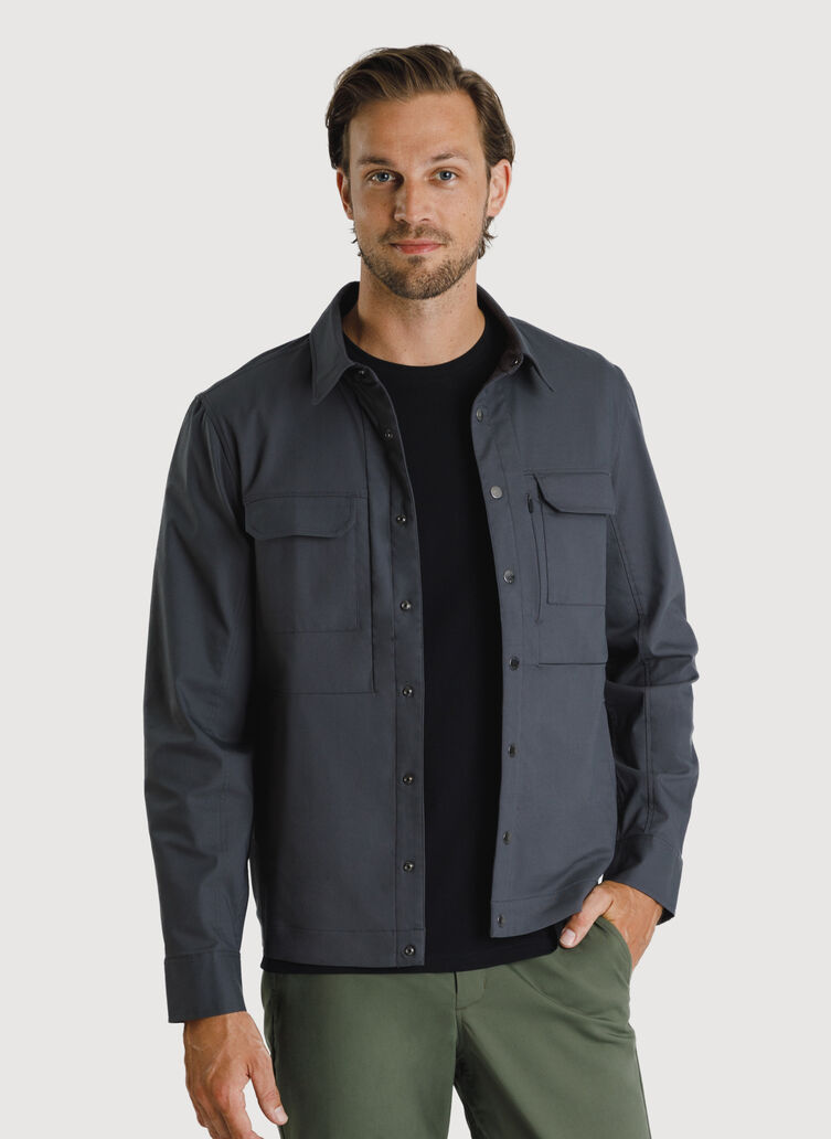 Navigator Commute Jacket, Charcoal | Kit and Ace