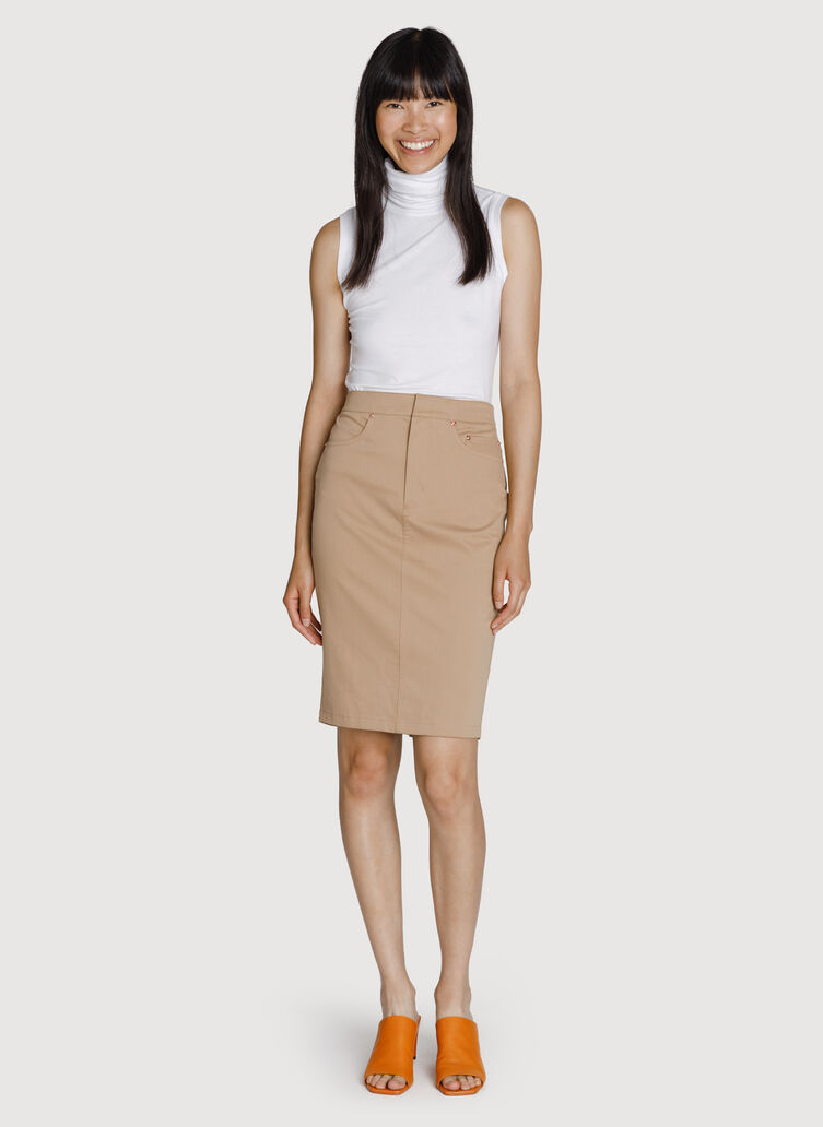 Mainstay Stretch Skirt, Sienna | Kit and Ace