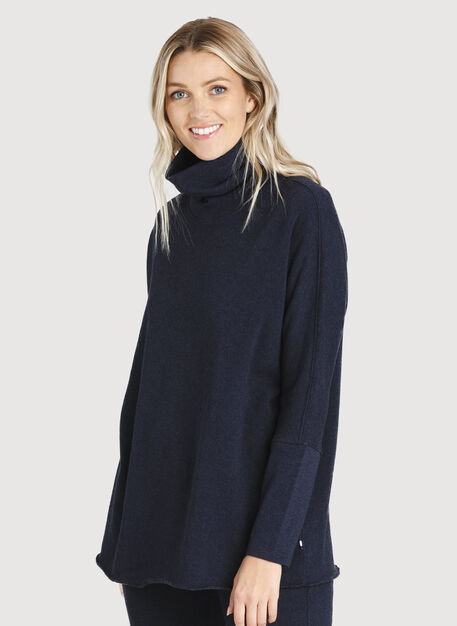 Pleasant Pullover, HTHR DK Navy | Kit and Ace