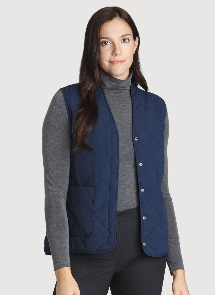 Cruising Vest, DK Navy | Kit and Ace