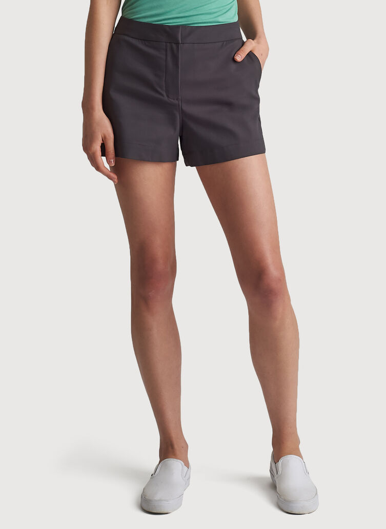 Navigator Ride Relaxed Shorts, Charcoal | Kit and Ace