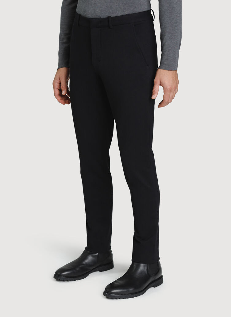 Comfort Office Pants, Deep Black | Kit and Ace