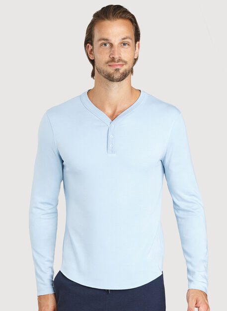 First Class Henley, HTHR Celestial Blue | Kit and Ace