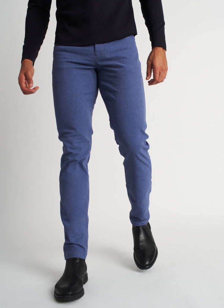 Stride Pants, Heather Dark Indigo | Kit and Ace