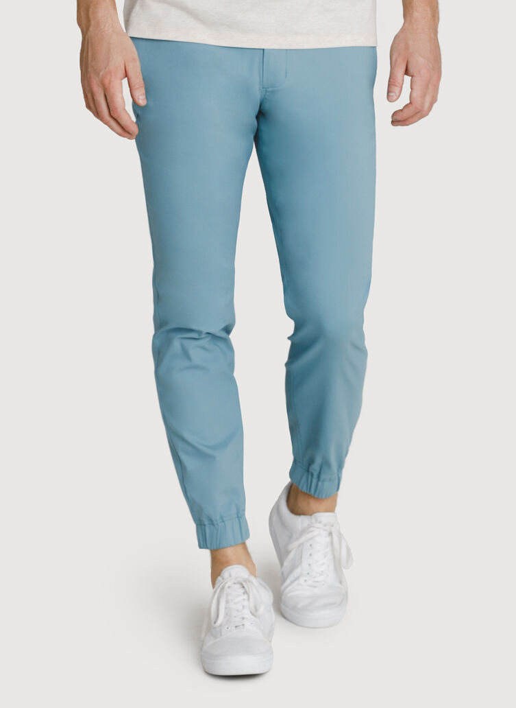 Navigator Stretch Joggers 3.0, Smoke Blue | Kit and Ace