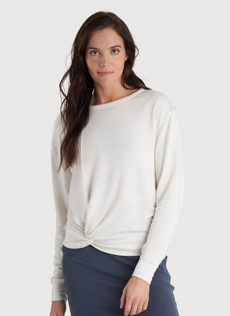 Brushing Up Pullover, Bright White | Kit and Ace