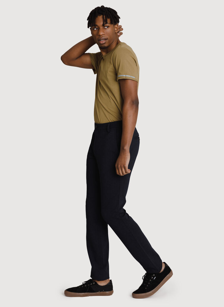 Bidwell Pant 2.0, HTHR DK Navy | Kit and Ace