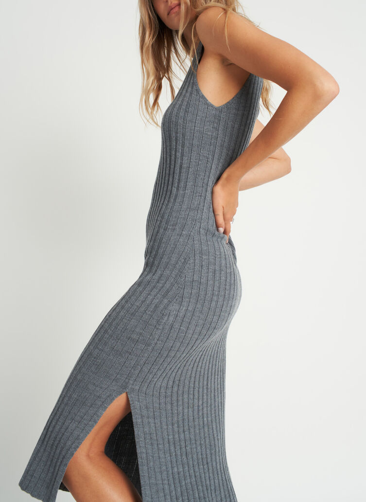 Limitless Dress, Heather Grey | Kit and Ace