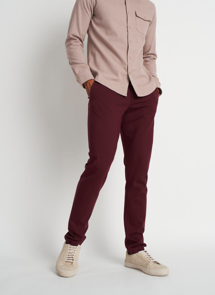 The Comfort Pants, Heather Plum | Kit and Ace