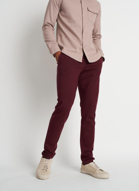 Comfort Pants, Heather Plum | Kit and Ace