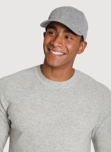Cashmere Cap, HTHR GREY | Kit and Ace