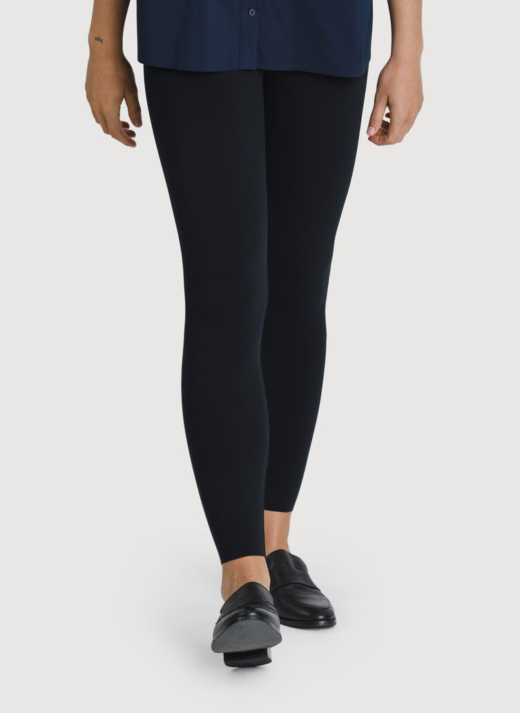 The Office Ankle Tight, BLACK | Kit and Ace