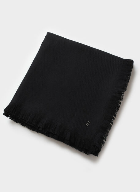 Blanket Scarf, Black | Kit and Ace