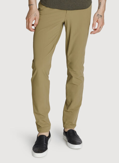 Six Pocket Stretch Pant, Olive Moss | Kit and Ace