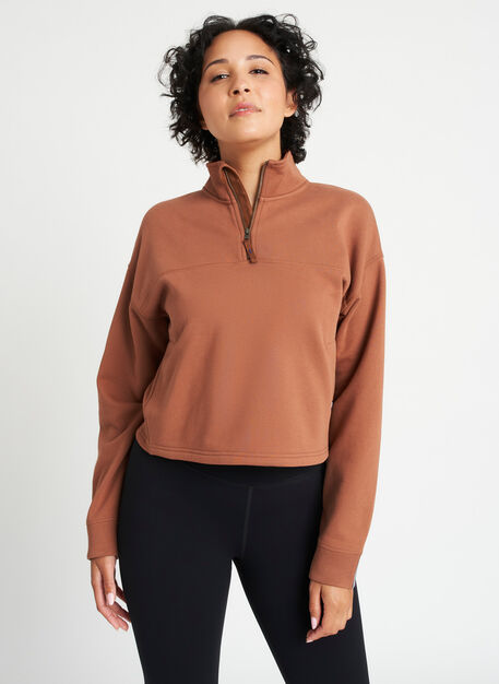 Lounge Pullover, Acorn | Kit and Ace