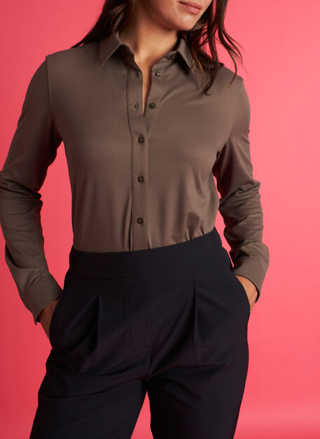 O.T.M. Classic Blouse, Sage | Kit and Ace