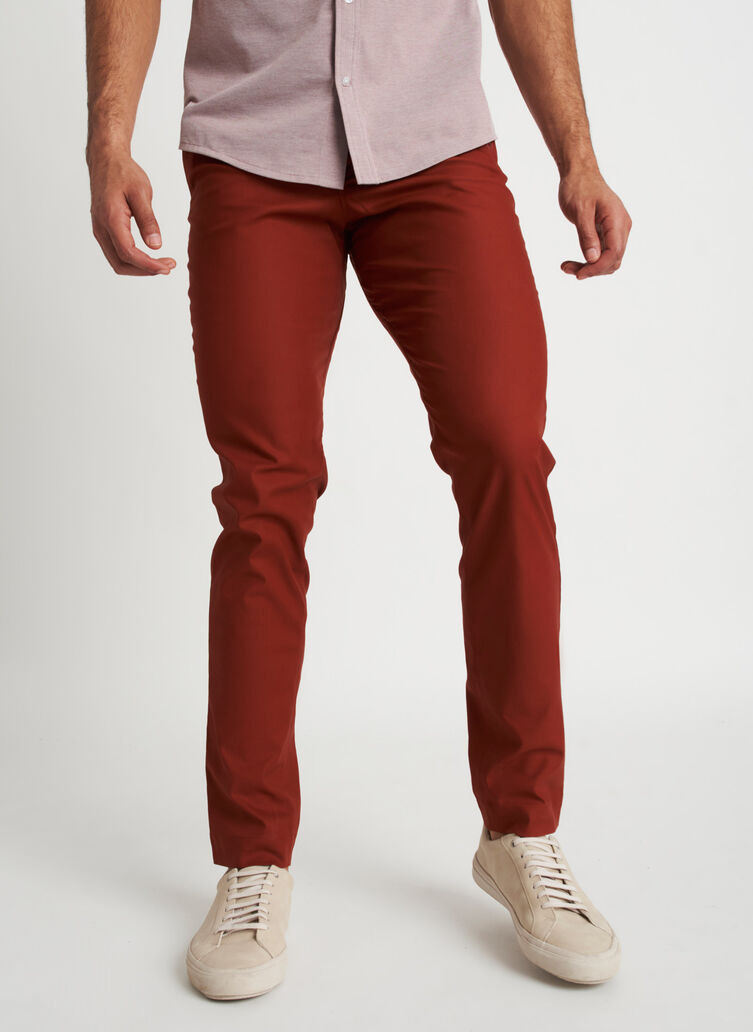 Full Potential Pants, Deep Maple | Kit and Ace