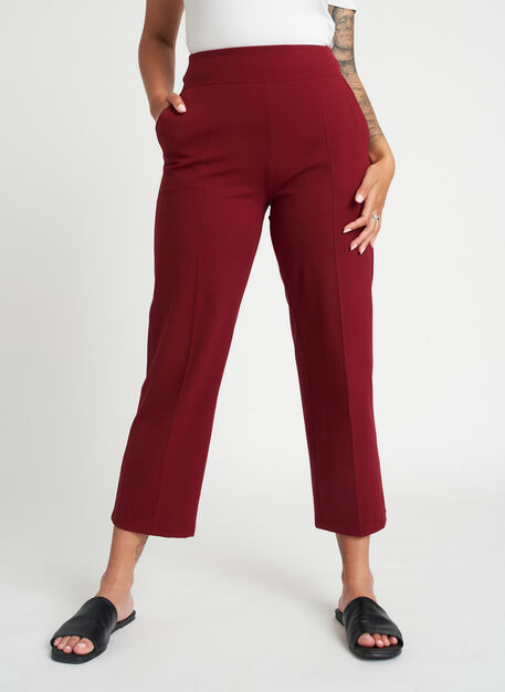 On Repeat Pants, Burgundy | Kit and Ace