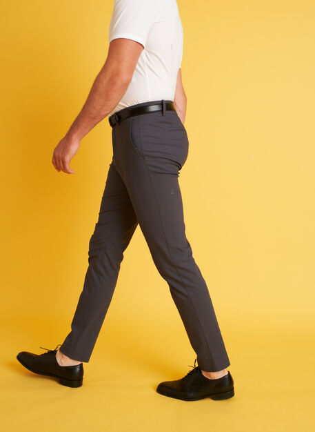 Commute Pants Slim Fit, Cove Grey   Kit and Ace