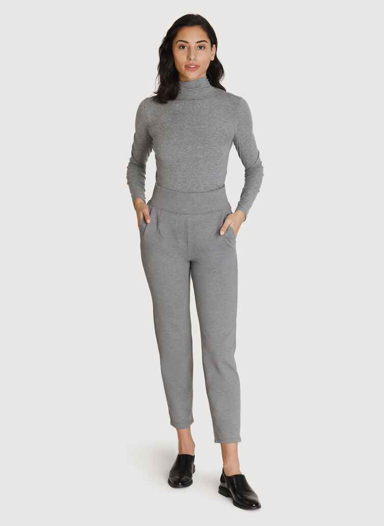 Mulberry Pant *Cashmere, HTHR GREY | Kit and Ace