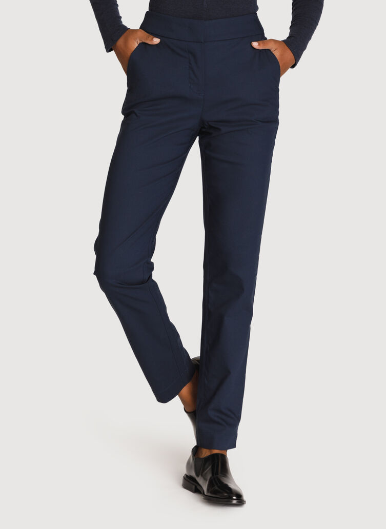 Womens Navigator Stretch Trouser, DK Navy | Kit and Ace