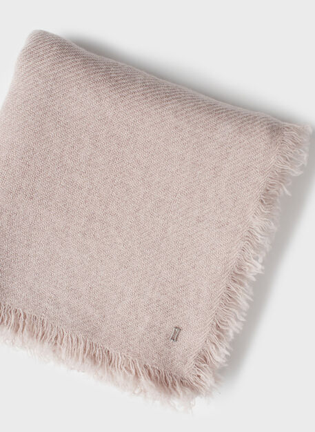Blanket Scarf, Heather Oat | Kit and Ace