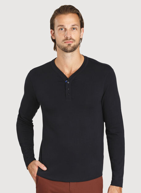 First Class Henley, BLACK | Kit and Ace