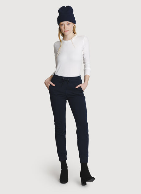 Terry Pull-on Pant, DK Navy | Kit and Ace