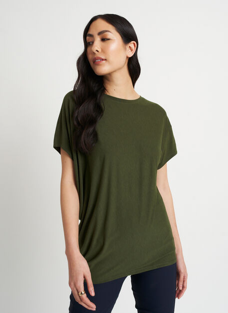 Wave Tee, Grove Green | Kit and Ace