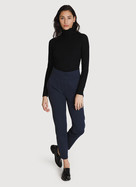 Mulberry Pant *Cashmere, HTHR DK Navy | Kit and Ace