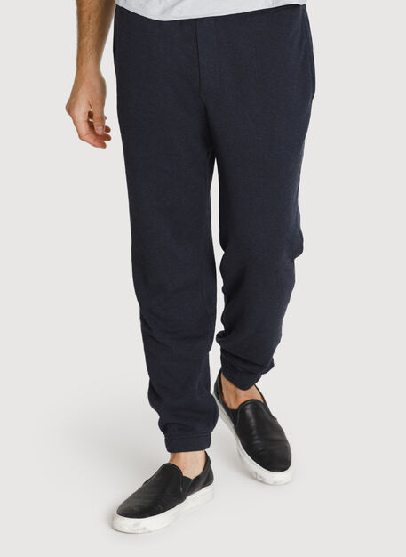 No Sweat Pant, HTHR DK Navy | Kit and Ace