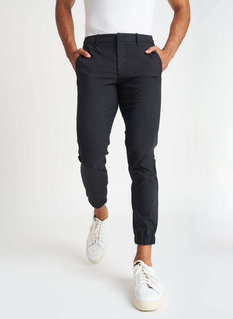 Commute Joggers | Navigator Collection, Black | Kit and Ace