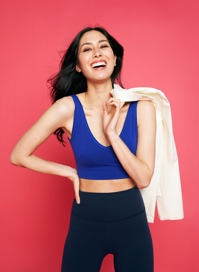 Two Worlds Apart Bra, KITS Blue | Kit and Ace